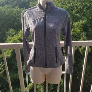 Lululemon Gray Full Zip Athletic Jacket